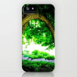 Park idyll iPhone Case