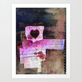 Love Fever Art Print