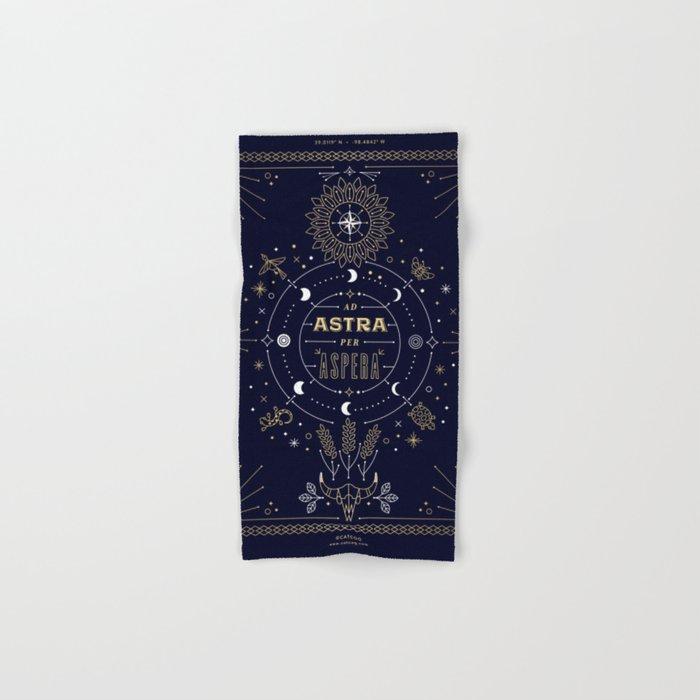 Ad Astra Per Aspera Hand & Bath Towel