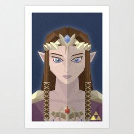The Princess of Hyrule Art Print