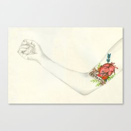 Love is as Strong as Death Canvas Print