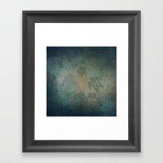 Sea Turtles, mate... Framed Art Print