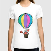 percy jackson T-shirts featuring Percy Purcell the Worried Crab by Abigail Balfe