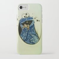 cookie monster iPhone & iPod Cases featuring Cookie Monster  by Jay Dee Art