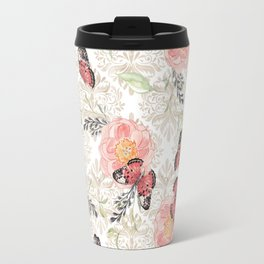 Flowers & butterflies #2 Travel Mug