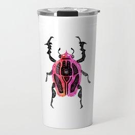 Pink Bug Bash Travel Mug