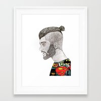 zayn malik Framed Art Prints featuring Zayn Malik by LizzMartinez