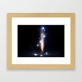 Firework Firecracker Framed Art Print