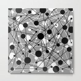 Molecular Madness Metal Print