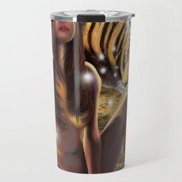 Tiger Beach Travel Mug