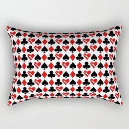 Is Love a Game? (Pattern) Rectangular Pillow