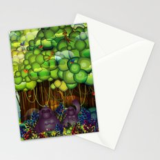 Jungle of colors Stationery Cards