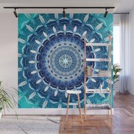 Absolute Zero Mandala Wall Mural