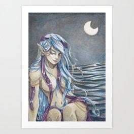 Night Elf Art Print