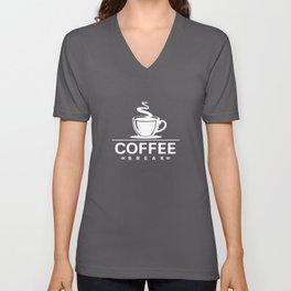 Coffeebreak Unisex V-Neck