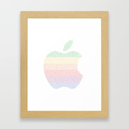 Big Apple Framed Art Print