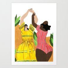 Lisa Marie Fernandez Resort 2017 Art Print