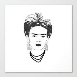 Spacey Frida Canvas Print