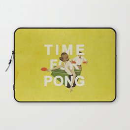 Time For Pong Laptop Sleeve