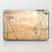selfie iPad Cases featuring Selfie by Amanda Vieira