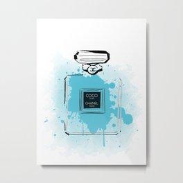 Blue Perfume #2 Metal Print