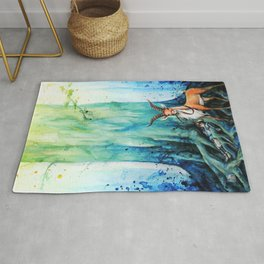 """At the tree's feet"" Rug"