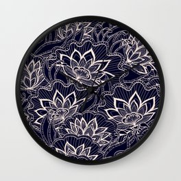 FlowerIngaaa Wall Clock