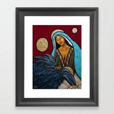 Lay Down Your Burdens Framed Art Print