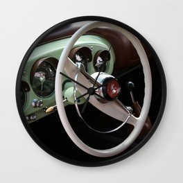Vintage Kaiser Darrin Automobile Interior Wall Clock