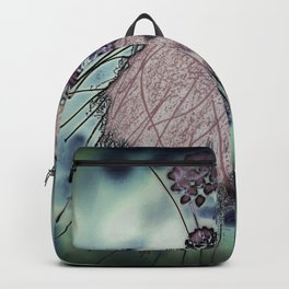 Mysterious Blossom - Liquid Winter Backpack