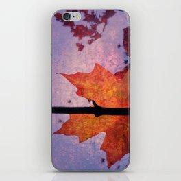 Autumn Sadness iPhone Skin