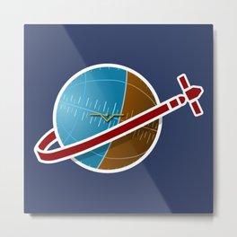 Spaceship! Metal Print