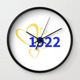 1922 Love Wall Clock