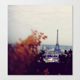 Rainy Day In Paris  Canvas Print