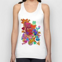 gravity falls Tank Tops featuring Gravity Falls Gal Party by Idleshop