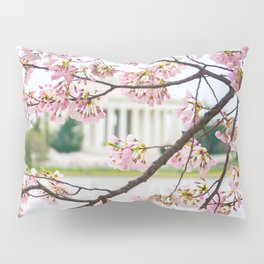 Jefferson through the Blossoms Pillow Sham