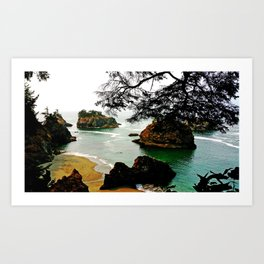 Thunder Rock Cove Art Print
