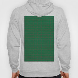 Green Wall Red Line Hoody