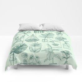 PLANTS LOVER Comforters