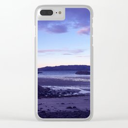 Sunset at  Loch Eil Clear iPhone Case