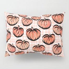 Pumpkin Patch Plaid Pillow Sham