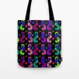All Foxed out in color Tote Bag