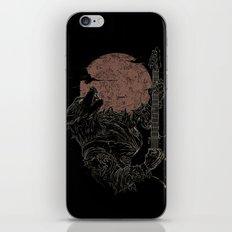 The Rock Werewolf iPhone & iPod Skin