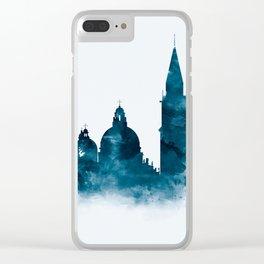 Venice Skyline Clear iPhone Case