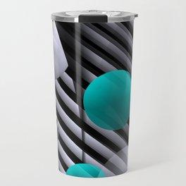 3D - abstraction -126- Travel Mug