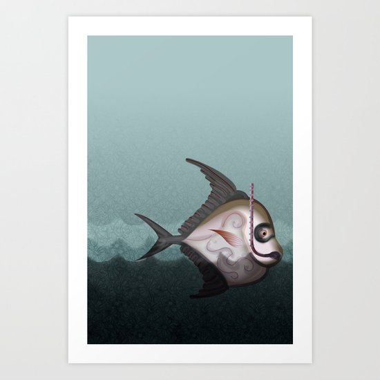 Fish from the Abyss Art Print