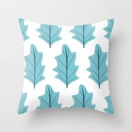 Salad Leaves Throw Pillow