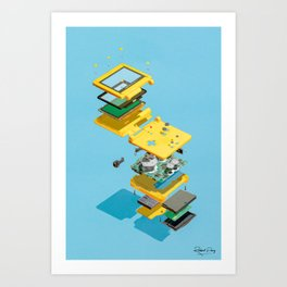 Assembly Required 16 Art Print