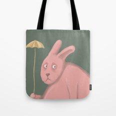 Sad Bunny  Tote Bag