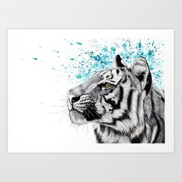 The majestic Art Print